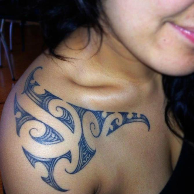 Girls Maori Tattoo - Maori Tattoos <3 <3