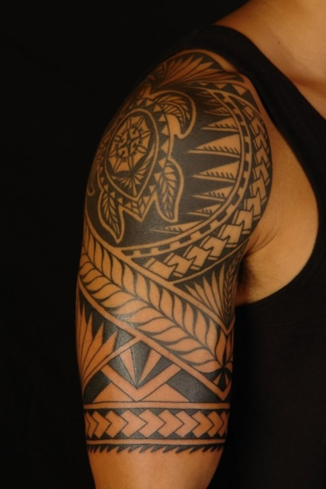 Tattoo on Shoulder Men - Maori Tattoos <3 <3