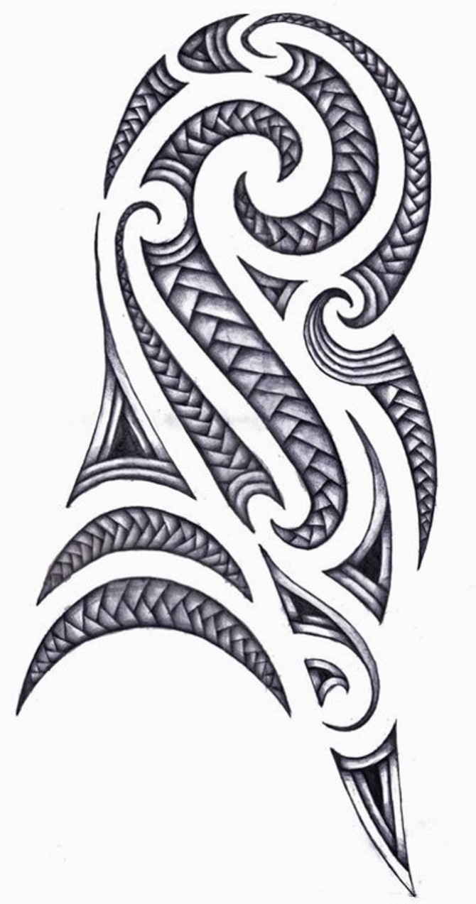 Maori Tribal Arm Tattoo Designs - Maori Tattoos <3 <3