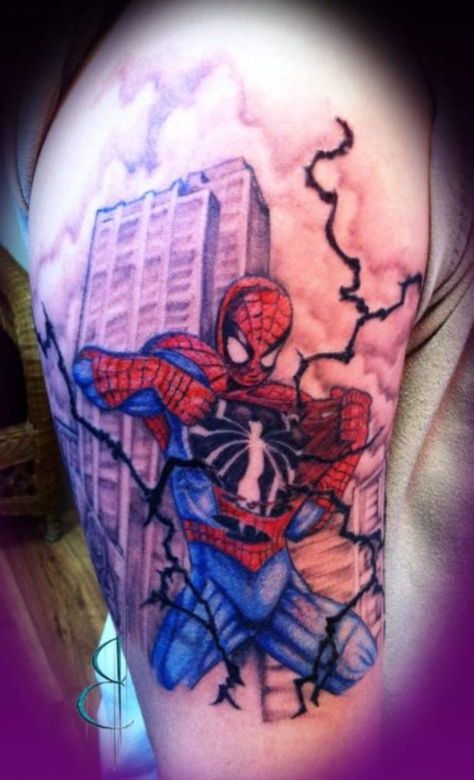 Spider Man Tattoo - Spider Tattoos <3 <3