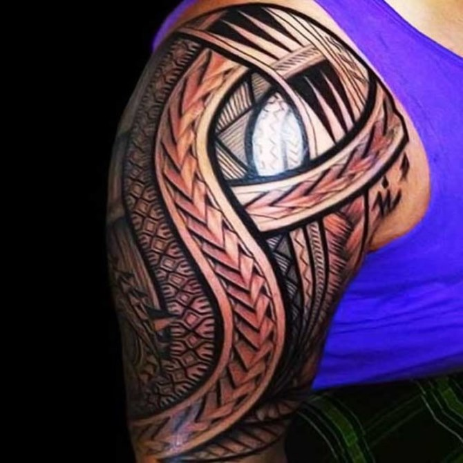 Tattoo Designs Maori Arm - Maori Tattoos <3 <3