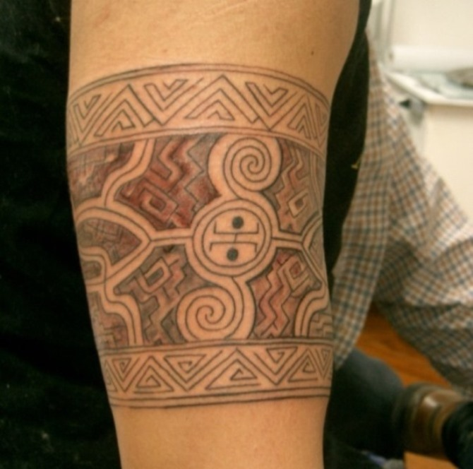 Polynesian Armband Tattoo - 30 Best Armband Tattoos <3 <3