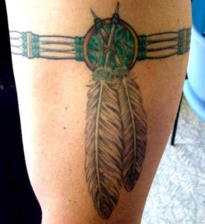 Native American Armband Tattoo - 30 Best Armband Tattoos <3 <3