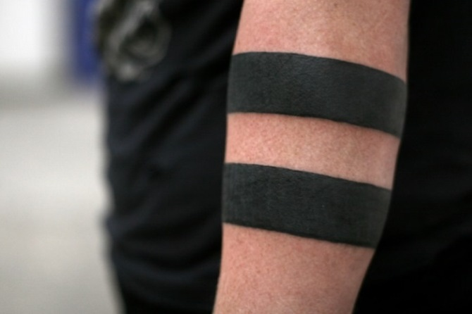 Solid Black Armband Tattoo - 30 Best Armband Tattoos <3 <3