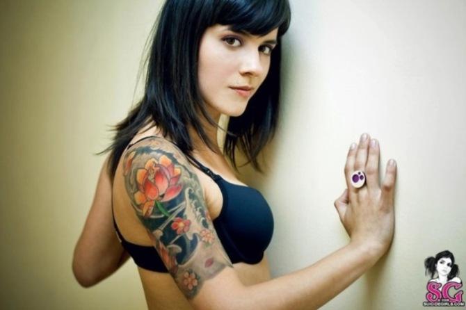 27 Sleeve Girl Tattoos Tattoofanblog