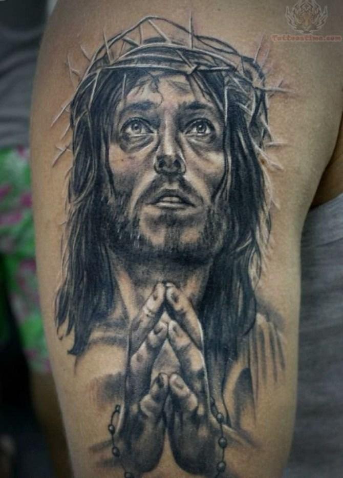 11-jesus-crown-of-thorns-tattoo-designs
