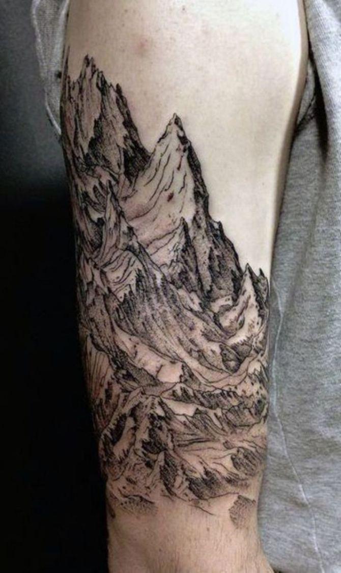 Tattoo Designs Mountain Range