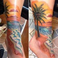 30 Beach Tattoos